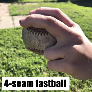 4 seam fastball example