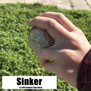 Sinker pitch example Samuel Talks Sports