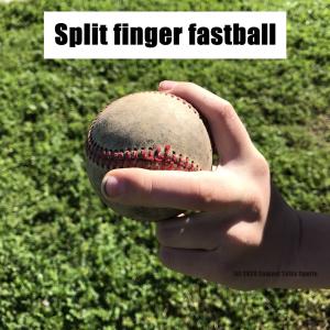 Split finger fastball